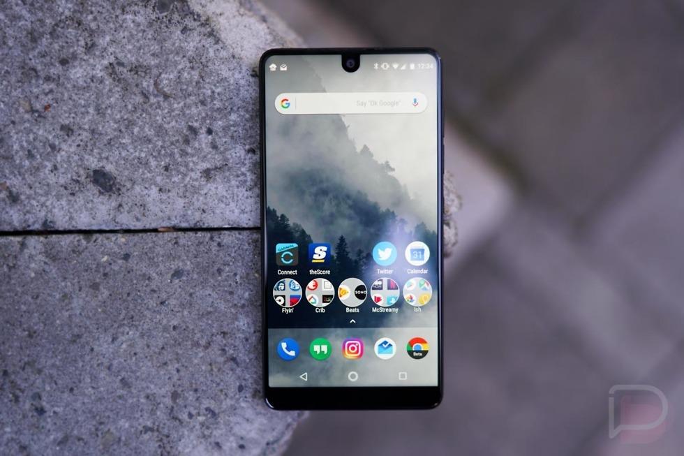 essential phone first look