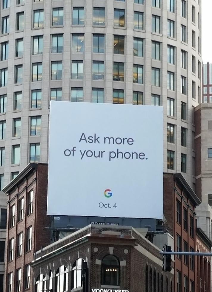 google pixel 2 event date