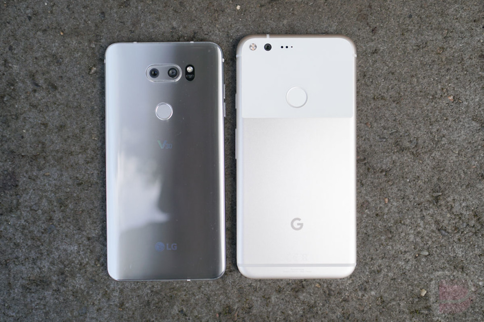 lg v30 vs pixel xl