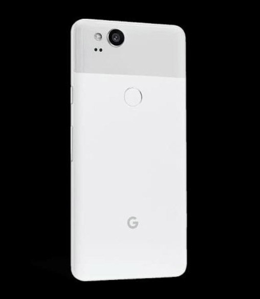 pixel 2 clearly white