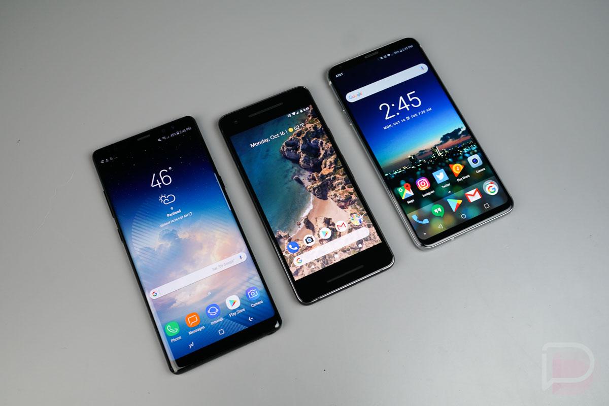 Camera Shootout: Google Pixel 2 vs  LG V30 vs  Galaxy Note 8
