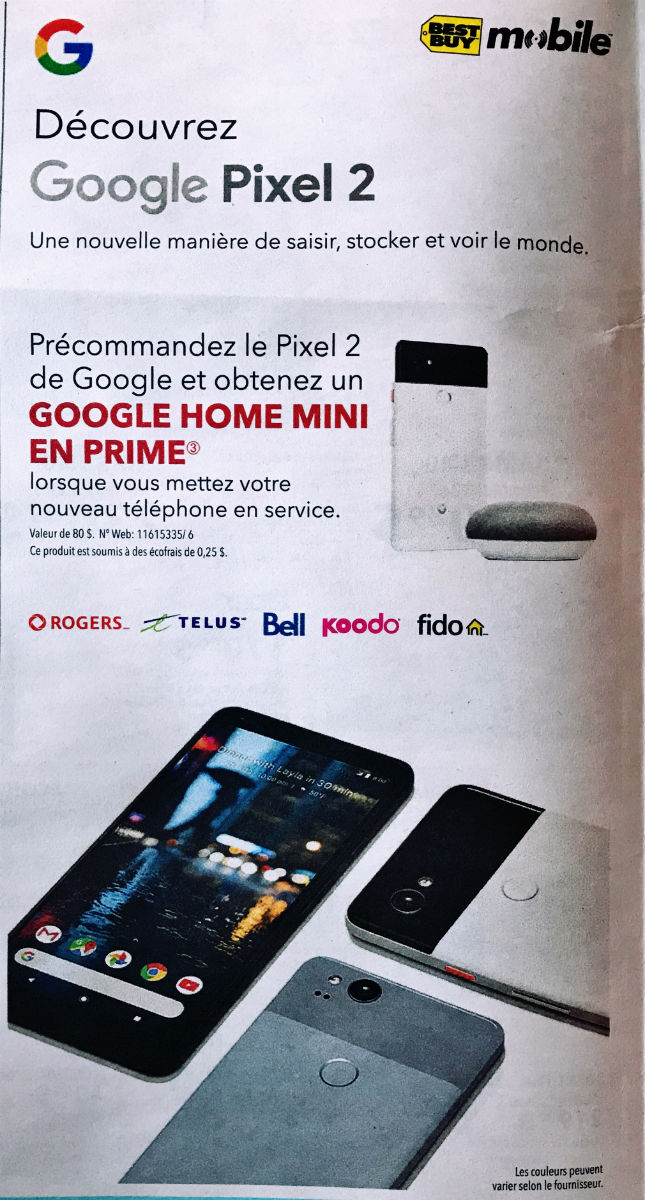 free google home mini pixel 2
