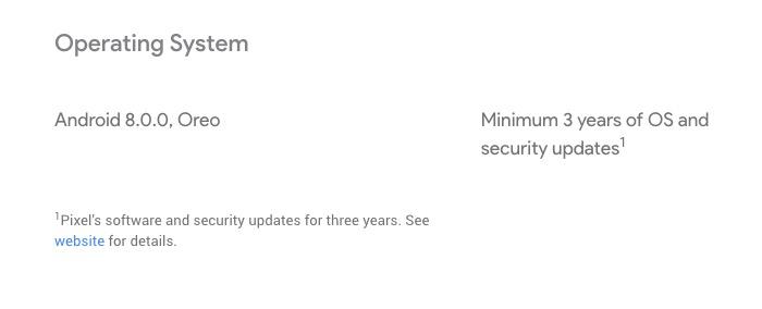 pixel 2 OS updates