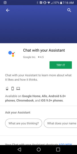 google assistant chromebooks