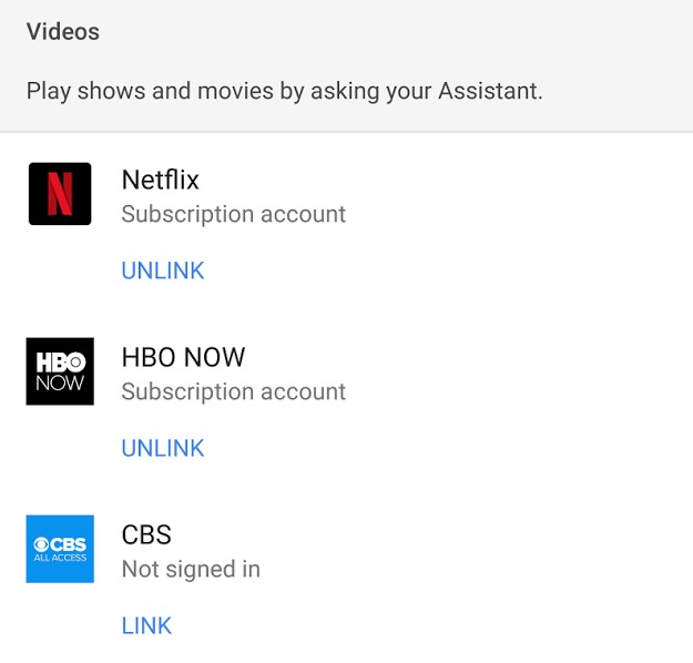 google home hbo