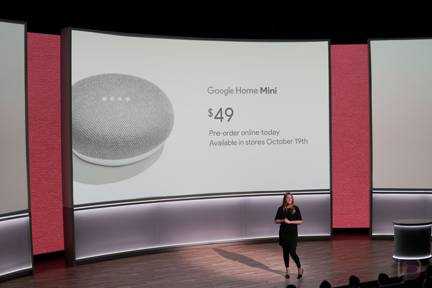 Google home mini announced available october 19 for 49 for Google home mini