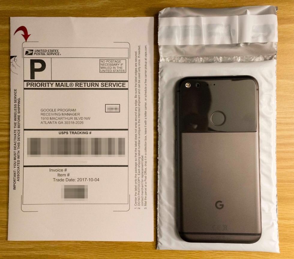google trade-in kit