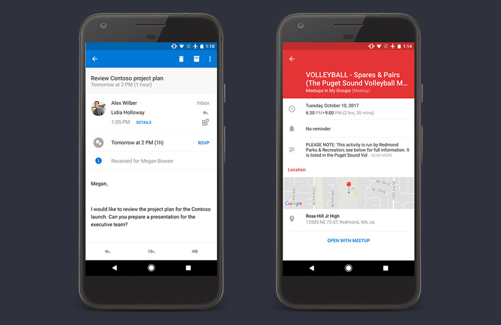 outlook for android gets a bunch of calendar enhancements and features  u2013 droid life