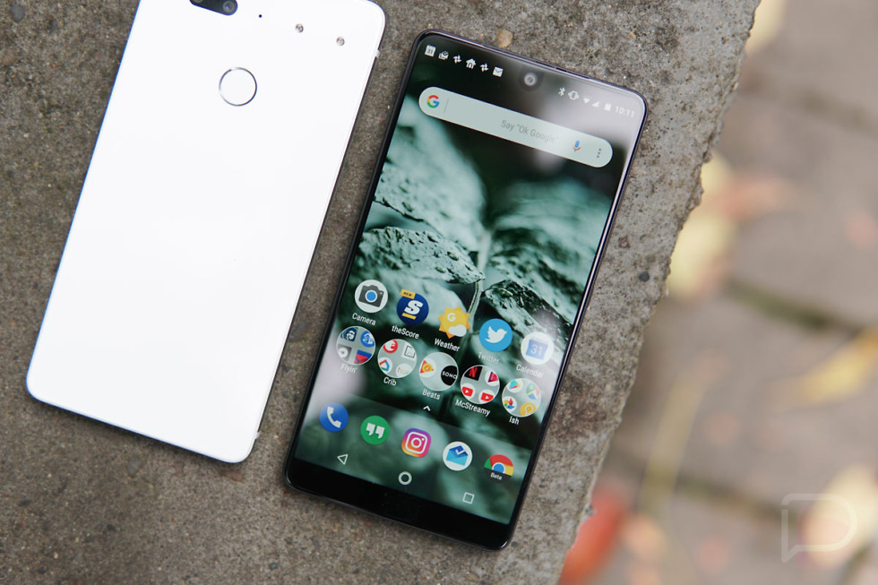 essential phone update