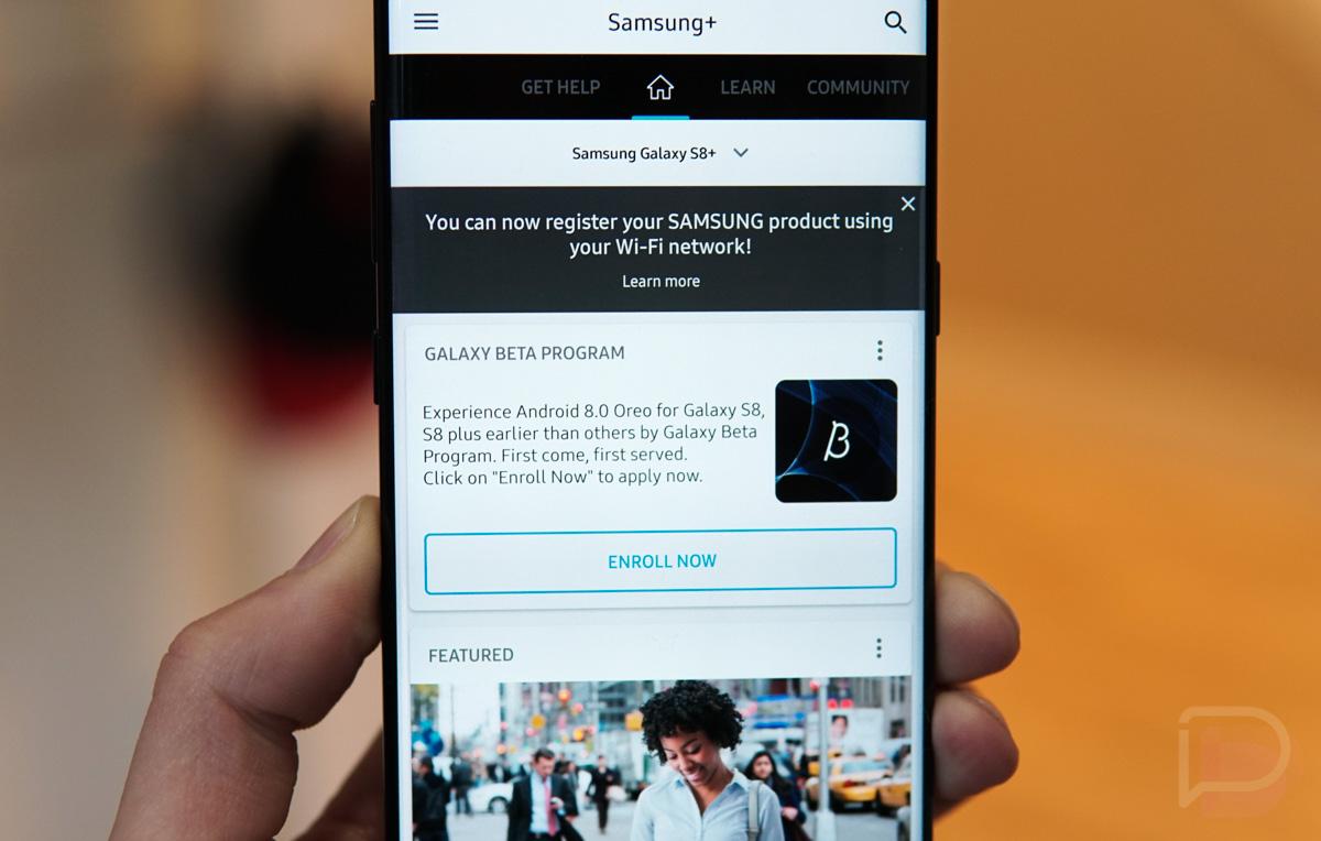 Galaxy S8 Oreo Update Beta
