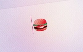 google fixed burger emoji