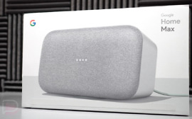 google home max unboxing