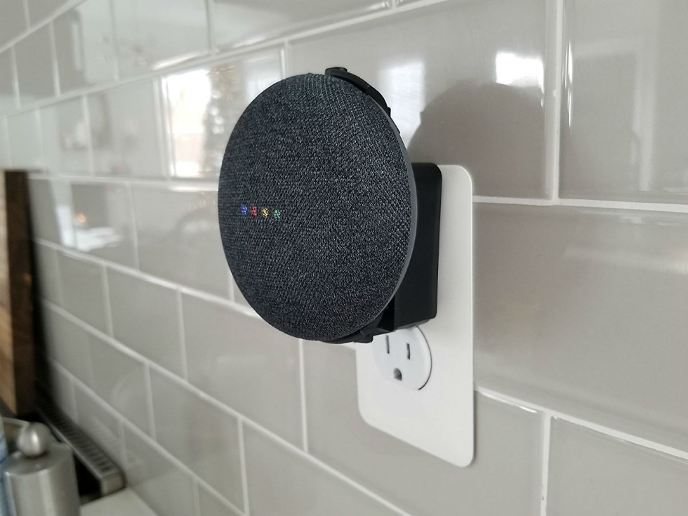 Forget nvidia spot use this 15 outlet mount for your for Google home mini