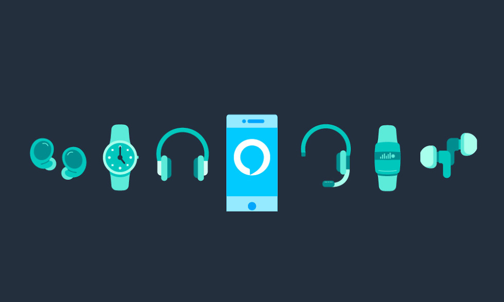 alexa smartwatch headphones