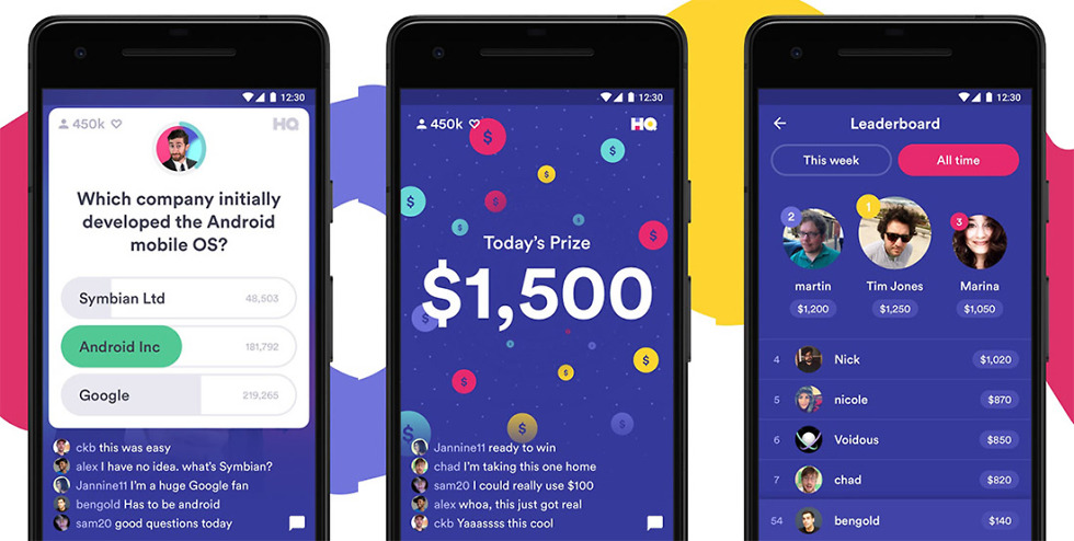 download hq trivia android