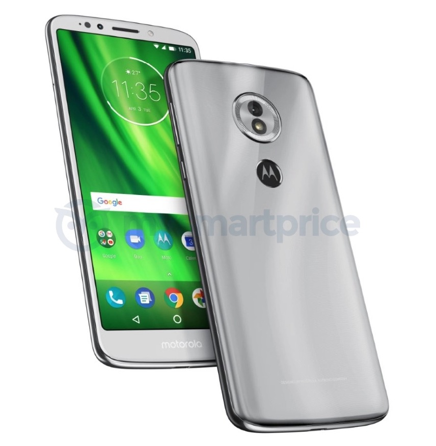 Moto G6 Plus possibly caught on camera