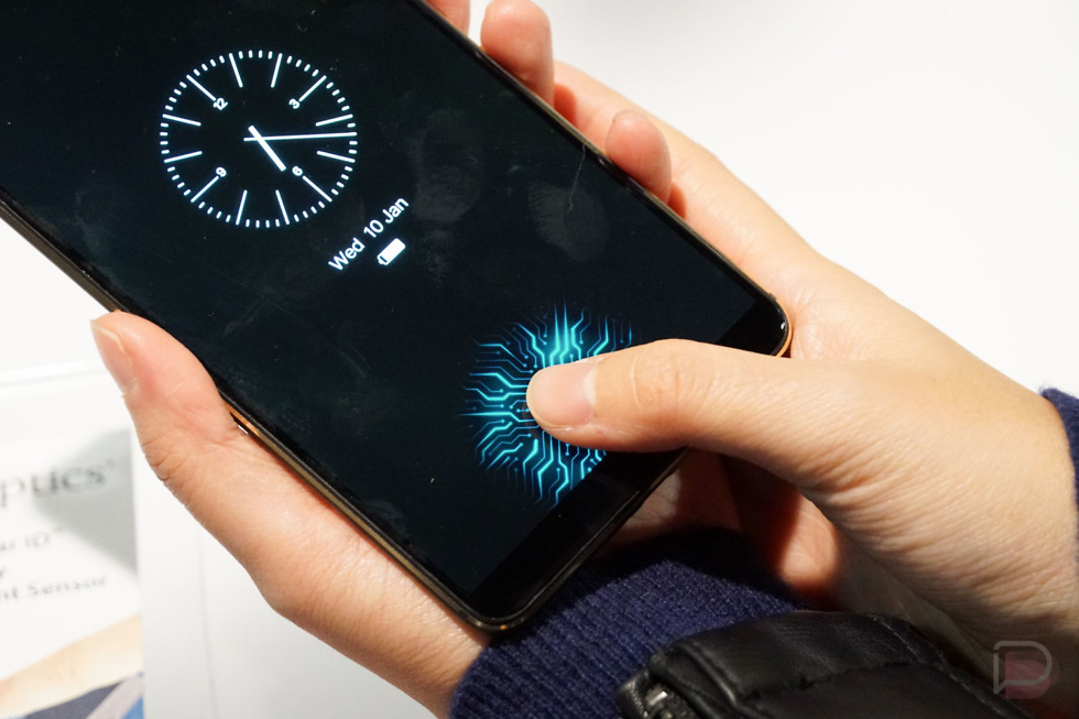best of ces synaptics in-display fingerprint
