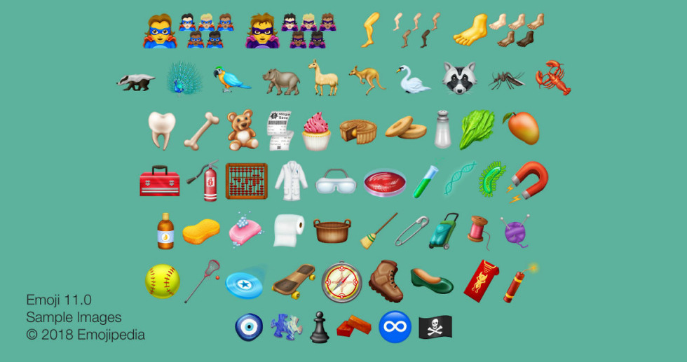 Here are the New Emoji You Can Expect in 2018 – Droid Life