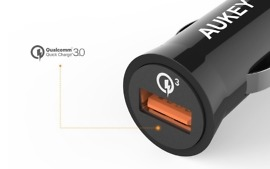 aukey qc 3.0 car charger deal
