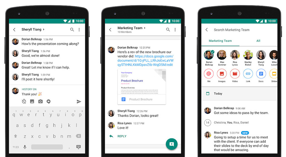 download hangouts chat