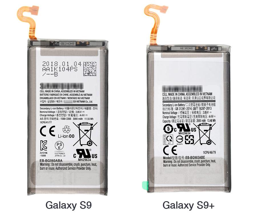 galaxy s9 battery s9 plus