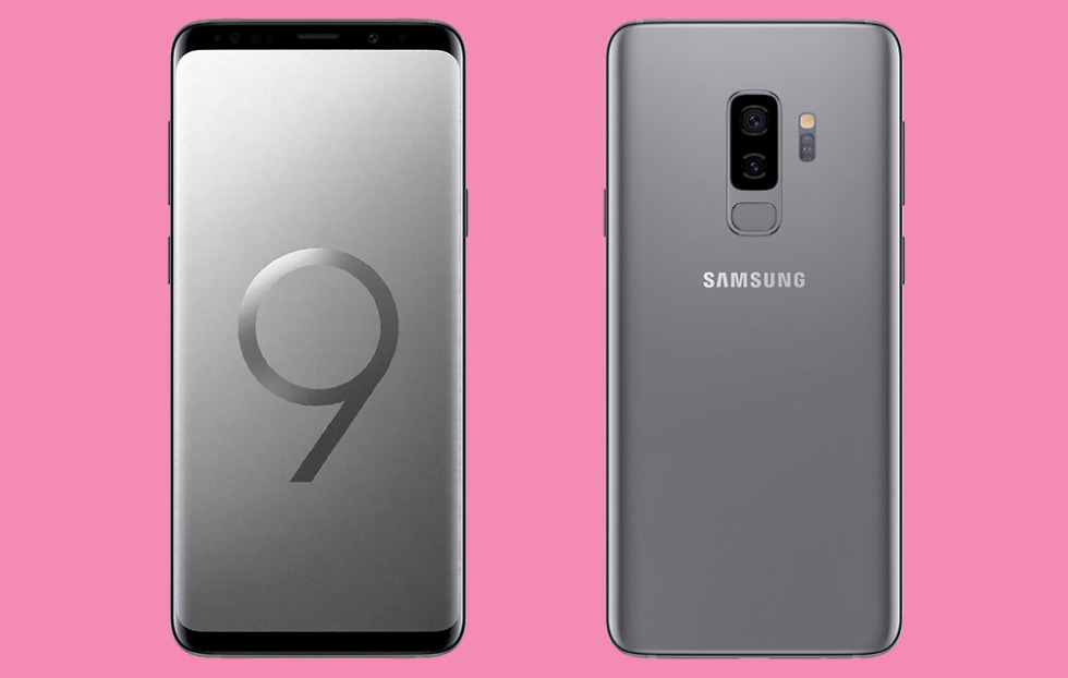 galaxy s9 plus titanium grey