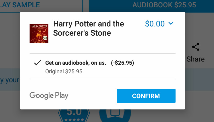 free google home audiobook