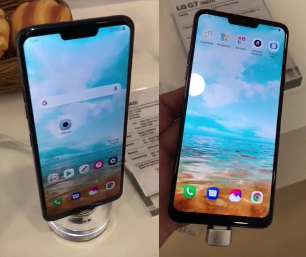 LG G7 Shows Up at MWC With the Most Beautiful iPhone X Notch Ever 🙄