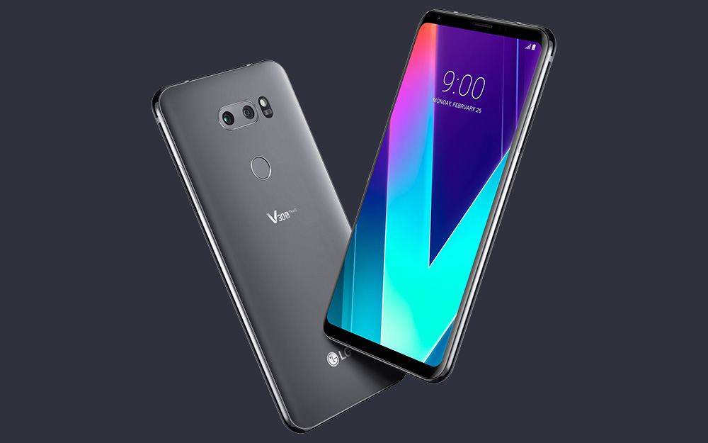 lg v30s thinq grey