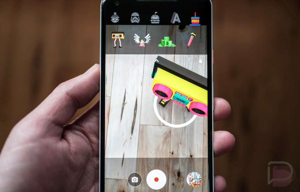 google s new winter sports and blocks ar stickers are here for your pixel pixel 2 droid life. Black Bedroom Furniture Sets. Home Design Ideas
