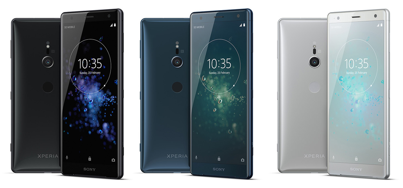 Sony Xperia XZ2 and XZ2 Compact Now Up for Pre-Order in US