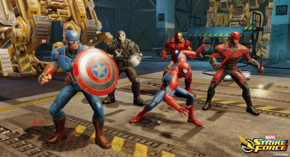 Strike Force Marvel