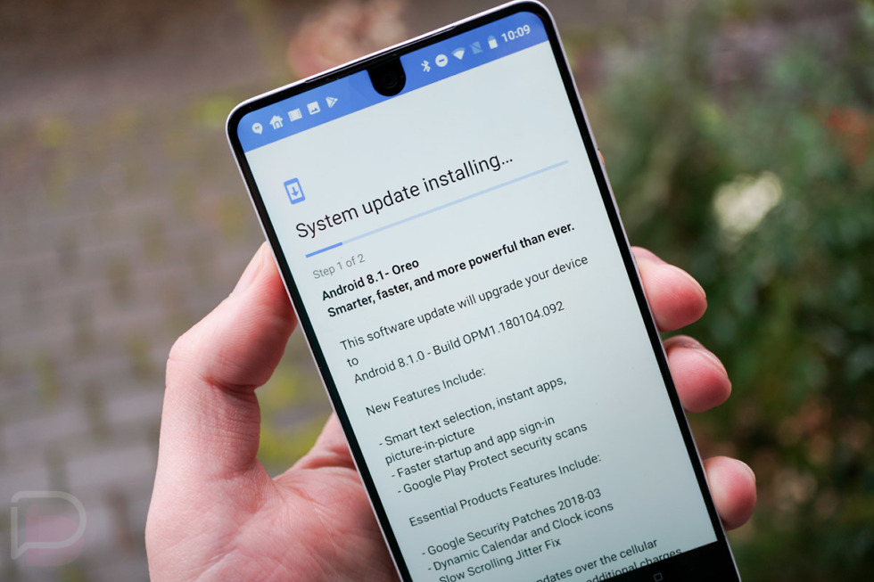 essential 8.1 update