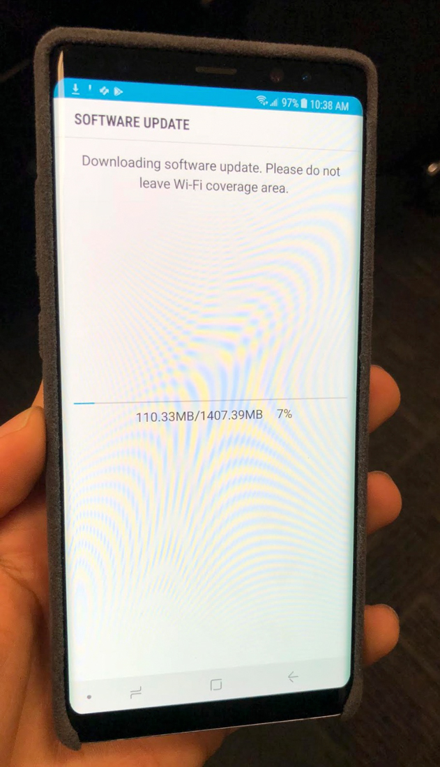 AT&T Galaxy Note 8 Getting Oreo Update Right Now! – Droid Life
