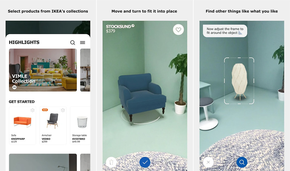 ikea place app comes to android powered by arcore droid life. Black Bedroom Furniture Sets. Home Design Ideas