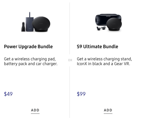 samsung s9 ultimate play bundle