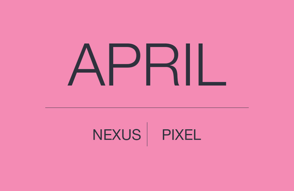 ANDROID SECURITY PATCH APRIL PIXEL