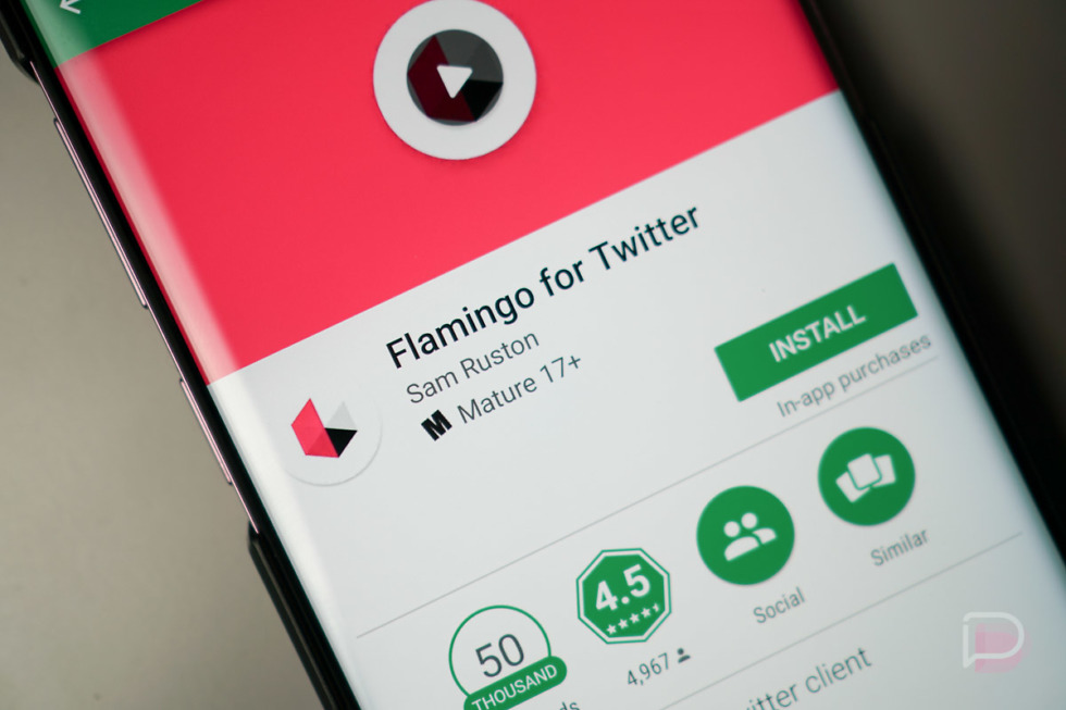 Flamingo for Twitter App