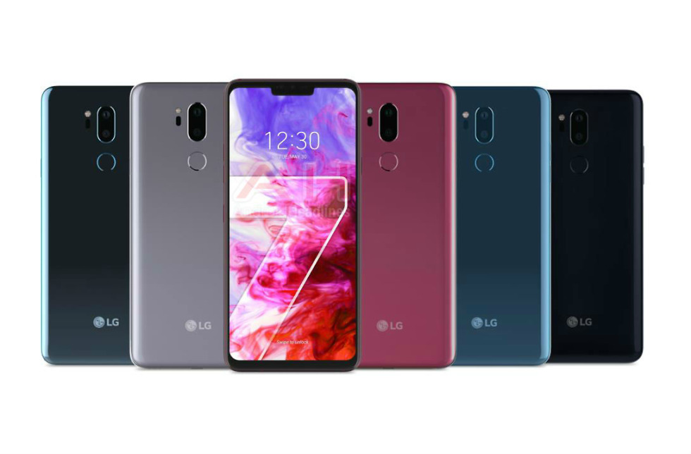 G7 ThinQ from LG Renders