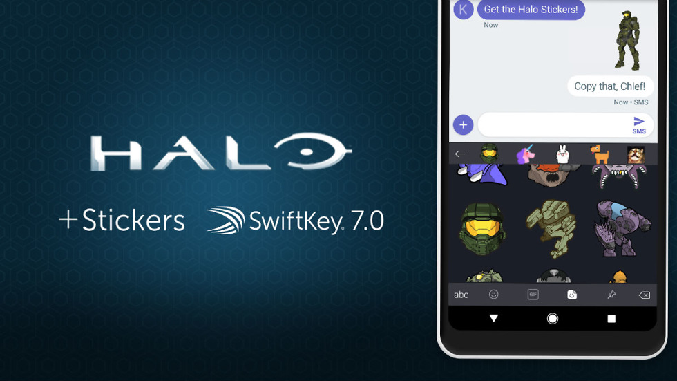Halo Stickers for SwiftKey