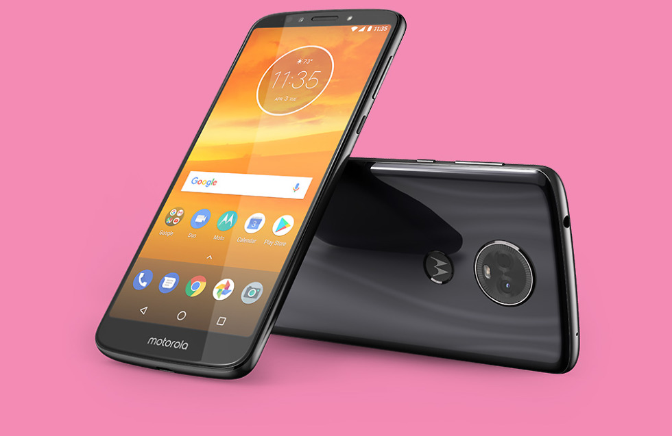 moto e5 plus flash gray