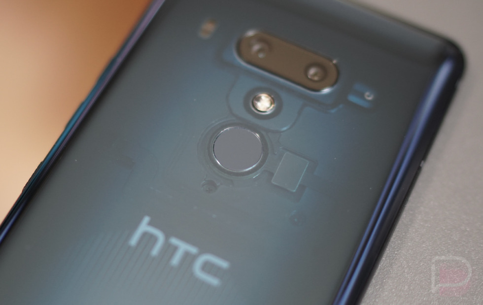 htc u12+ fingerprint