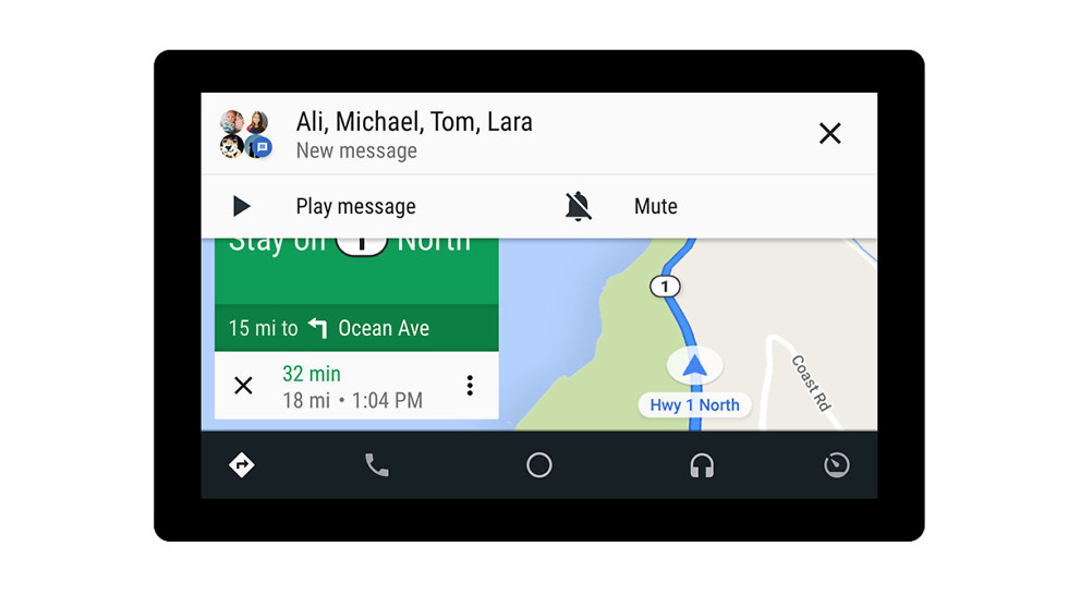 Android Auto is Getting New Visuals, Group Messaging and ...