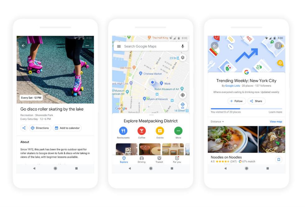 Google Maps IO2018