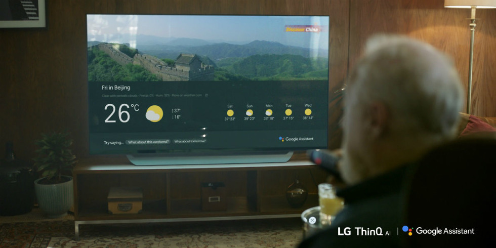 Google Assistant for LG TVa