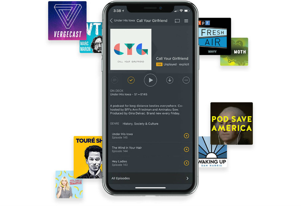 Podcasts for Plex