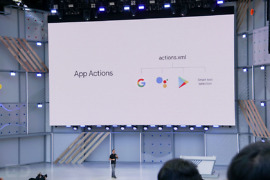 android p app actions