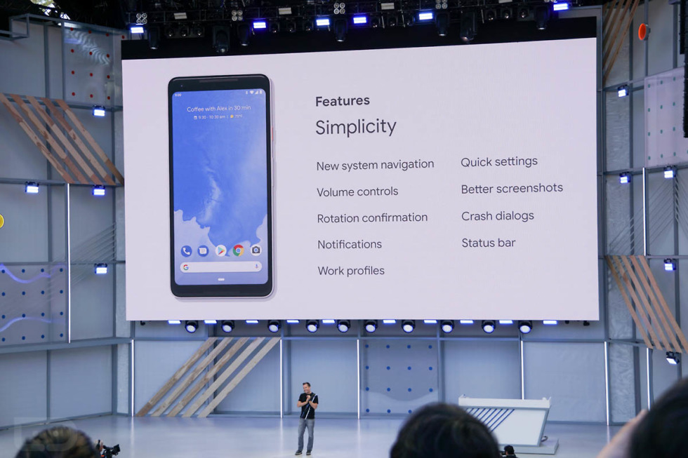top android p features