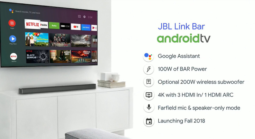 jbl link bar android tv