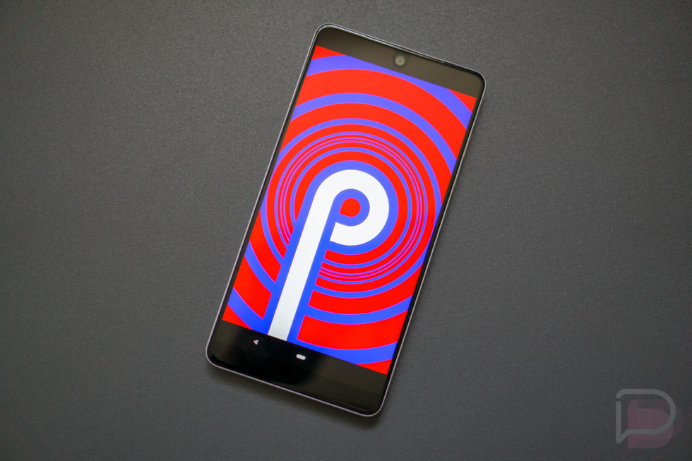 essential phone android p